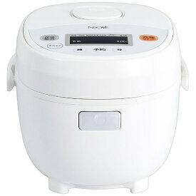 NEOVE ネオーブ 炊飯器 ホワイト RRS-AM30WT [マイコン /3合][RRSAM30WT]