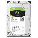 SEAGATE シーゲート SeagateBarraCuda3.5インチHDD 4TB ST4000DM004/BIC