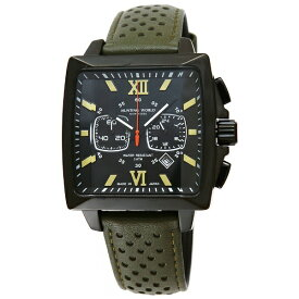 ハンティングワールド HUNTING WORLD メンズ腕時計 HW701BGR グリーン【並行輸入品】