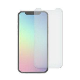 OWLTECH オウルテック iPhone 11 Pro/Xs/X 5.8インチ 画面保護ガラス フレームレス スタンダードガラス 0.33mm厚 マット&ブルーライトカット OWL-GSIB58-AB