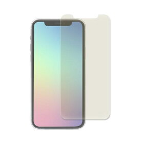 OWLTECH オウルテック iPhone 11 /XR 6.1インチ 画面保護ガラス フレームレス スタンダードガラス 0.33mm厚 クリア&ブルーライトカット OWL-GSIB61-BC