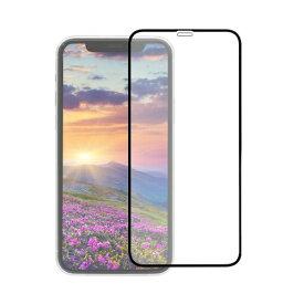 OWLTECH オウルテック iPhone 11 /XR 6.1インチ 画面保護ガラス 全面保護 貼付けキット付き 3次強化ガラス 0.33mm厚 クリア OWL-GUIB61F-BCL ブラック