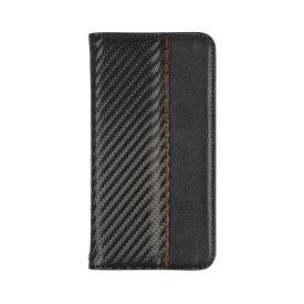 OWLTECH オウルテック iPhone 11 Pro 5.8インチinch用 カード収納ポケット付き手帳型ケース OWL-CVIB5804-CABK カーボンブラック