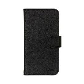 OWLTECH オウルテック iPhone 11 6.1インチ 用 カード収納ポケット付き手帳型ケース OWL-CVIB6101-BK ブラック