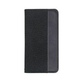 OWLTECH オウルテック iPhone 11 6.1インチ 用 カード収納ポケット付き手帳型ケース OWL-CVIB6103-BKBK ブラックxブラック