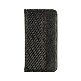 OWLTECH オウルテック iPhone 11 6.1インチ 用 カード収納ポケット付き手帳型ケース OWL-CVIB6104-CABK カーボンブラック