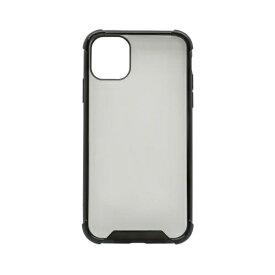 OWLTECH オウルテック iPhone 11 6.1インチ 用 耐衝撃ケース OWL-CVIB6109-BK ブラック