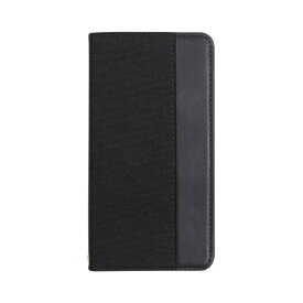 OWLTECH オウルテック iPhone 11 Pro Max 6.5インチ 用 カード収納ポケット付き手帳型ケース OWL-CVIB6503-BKBK ブラックxブラック