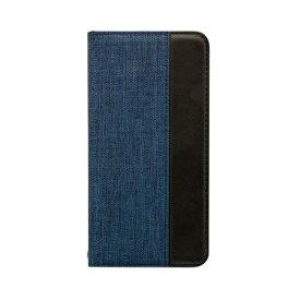 OWLTECH オウルテック iPhone 11 Pro Max 6.5インチ 用 カード収納ポケット付き手帳型ケース OWL-CVIB6503-NVBK ネイビーxブラック