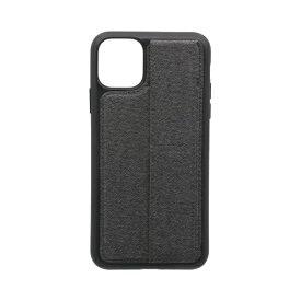 OWLTECH オウルテック iPhone 11 Pro Max 6.5インチ 用 スタンドベルト付耐衝撃ケース OWL-CVIB6508-GY グレー