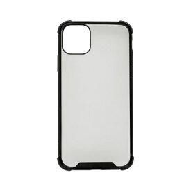 OWLTECH オウルテック iPhone 11 Pro Max 6.5インチ 用 耐衝撃ケース OWL-CVIB6509-BK ブラック