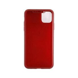 OWLTECH オウルテック iPhone 11 Pro Max 6.5インチ 用 フルカバーケース OWL-CVIB6510-RE レッド