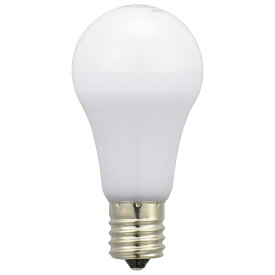 オーム電機 OHM ELECTRIC LED電球 小形 E17 60形相当 電球色 2個入り LDA6L-G-E17IH92-2