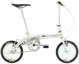 DAHON ダホン 14型 折りたたみ自転車 Dove Plus(ポリッシュ/シングルシフト)【2020年モデル】 【組立商品につき返品不可】 【代金引換配送不可】