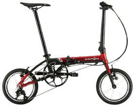 DAHON ダホン 14型 折りたたみ自転車 K3(レッド×マットブラック/3段変速) K3【2020年モデル】【組立商品につき返品不可】 【代金引換配送不可】