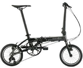 DAHON ダホン 14型 折りたたみ自転車 K3(ガンメタル×ブラック/3段変速) K3【2020年モデル】【組立商品につき返品不可】 【代金引換配送不可】