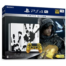 ソニーインタラクティブエンタテインメント Sony Interactive Entertainmen PlayStation 4 Pro DEATH STRANDING LIMITED EDITION CUHJ-10033[PS4 プレステ4 本体 プレイステーション4 プロ]