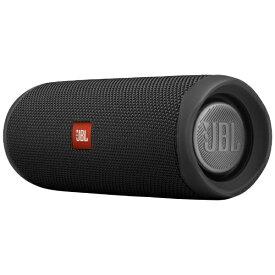 JBL ジェイビーエル ブルートゥース スピーカー JBLFLIP5BLK ブラック [Bluetooth対応 /防水][JBLFLIP5BLK]