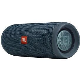 JBL ジェイビーエル ブルートゥース スピーカー ブルー JBLFLIP5BLU [Bluetooth対応][JBLFLIP5BLU]