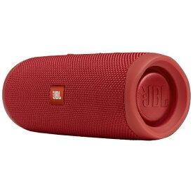 JBL ジェイビーエル JBLFLIP5RED ブルートゥース スピーカー Flip 5 レッド [Bluetooth対応 /防水][JBLFLIP5RED]