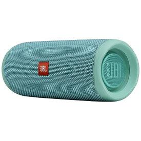 JBL ジェイビーエル ブルートゥース スピーカー JBLFLIP5TEAL ティール [Bluetooth対応 /防水][JBLFLIP5TEAL]