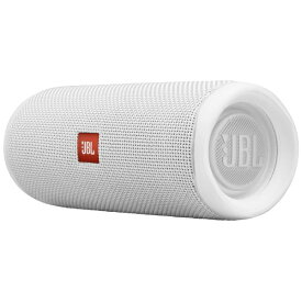 JBL ジェイビーエル ブルートゥース スピーカー JBLFLIP5WHT ホワイト [Bluetooth対応 /防水][JBLFLIP5WHT]