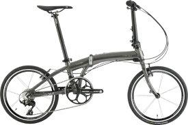 DAHON ダホン 20型 折りたたみ自転車 Mu SLX(メタリックグレー/外装11段変速)【2020年モデル】 【組立商品につき返品不可】 【代金引換配送不可】