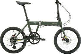 DAHON ダホン 20型 折りたたみ自転車 Horize Disc(カーキ/外装8段変速)【2020年モデル】 【組立商品につき返品不可】 【代金引換配送不可】