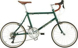 DAHON ダホン 20型 折りたたみ自転車 Dash Altena M(ブリティッシュグリーン/外装16段変速)【2020年モデル】 【組立商品につき返品不可】 【代金引換配送不可】