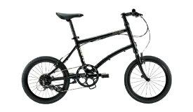 DAHON ダホン 20型 折りたたみ自転車 Dash P8(ナイトブラック/外装8段変速)【2020年モデル】 【組立商品につき返品不可】 【代金引換配送不可】
