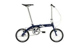 DAHON ダホン 14型 折りたたみ自転車 Dove Plus(グランドネイビー/シングルシフト)【2020年モデル】 【組立商品につき返品不可】 【代金引換配送不可】