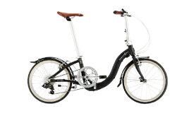 DAHON ダホン 20型 折りたたみ自転車 Ciao(マットブラック/外装7段変速)【2020年モデル】 【組立商品につき返品不可】 【代金引換配送不可】