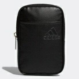 アディダス adidas ゴルフ アクセサリーポーチ(ブラック×シルバー/L10×W2.5×H16cm)XA232