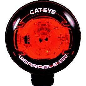 キャットアイ CATEYE キャットアイ セーフティライト ウェアラブルミニSV 赤 33×39 5442572