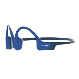 AfterShokz アフターショックス ブルートゥースイヤホン 耳かけ型 AfterShokz Aeropex ブルーエクリプス AFT-EP-000013 [マイク対応 /骨伝導 /Bluetooth][ワイヤレスイヤホン][AFTEP000013]