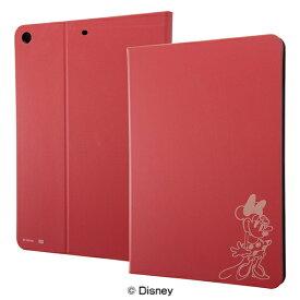 イングレム Ingrem iPad 9.7インチ用 レザーケース ディズニー IJ-DPA8LC/MN015 ミニーマウス_15