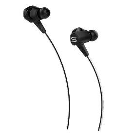 SOUL ソウル Bluetoothイヤホン SOUL (ソウル) ブラック SL-1021 [リモコン・マイク対応 /ワイヤレス(ネックバンド) /Bluetooth]
