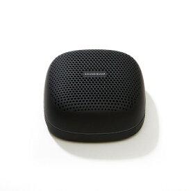 ラディウス radius SP-S10BTK ブルートゥーススピーカー SOUND BUMP ブラック [Bluetooth対応 /防滴][SPS10BTK]
