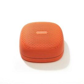ラディウス radius SP-S10BTT ブルートゥーススピーカー SOUND BUMP オレンジ [Bluetooth対応 /防滴][SPS10BTT]