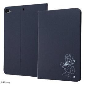 イングレム Ingrem iPad mini 5用 レザーケース ディズニー IJ-DPA12LCN/DD016 ドナルドダック_4