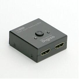 プリンストン PRINCETON RPHM-SW201S 2ポートHDMI切換器 RPHM-SW201S