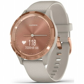 GARMIN ガーミン vivomove 3S Light Sand / Rose Gold【Suica対応】 010-02238-72[100223872]
