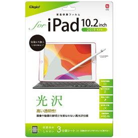 ナカバヤシ Nakabayashi 10.2インチ iPad(第7世代)用 液晶保護フィルム 光沢 TBF-IP19FLK