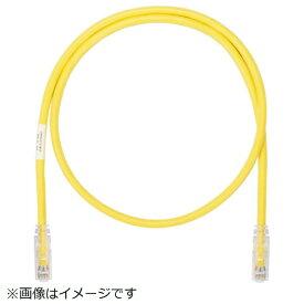 パンドウイット PANDUIT パンドウイット カテゴリ6AUTPパッチコード 1m 黄 UTP6A1MYL UTP6A1MYL