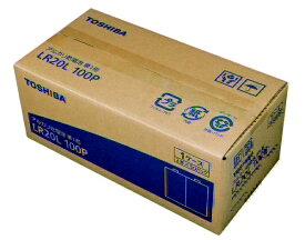 東芝 TOSHIBA LR20L 100P 単1電池 [100本 /アルカリ]