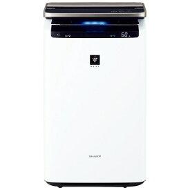 シャープ SHARP KI-LP100-W 加湿空気清浄機 ホワイト系 [適用畳数:46畳 /最大適用畳数(加湿):26畳 /PM2.5対応] ホワイト系[KILP100]