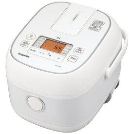 東芝 TOSHIBA RC-5XN-W 炊飯器 ホワイト [3合 /IH][RC5XNW]