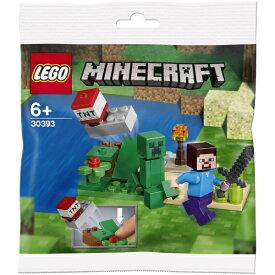 レゴジャパン LEGO 30393 マインクラフト スティーブとクリーパー ミニセット
