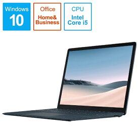 マイクロソフト Microsoft  SurfaceLaptop3 [13.5型 /SSD 256GB /メモリ 8GB /Intel Core i5 /コバルトブルー/2019年] V4C-00060 ノートパソコン サーフェスラップトップ3[13.5インチ office付き 新品 windows10][V4C00060]