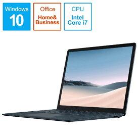 マイクロソフト Microsoft  SurfaceLaptop3 [13.5型 /SSD 256GB /メモリ 16GB /Intel Core i7 /コバルトブルー/2019年] VEF-00060 ノートパソコン サーフェスラップトップ3[13.5インチ office付き 新品 windows10][VEF00060]